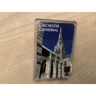 Fridge Magnet. Chichester Cathedral