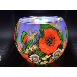 Benaya light glass, Poppy garden